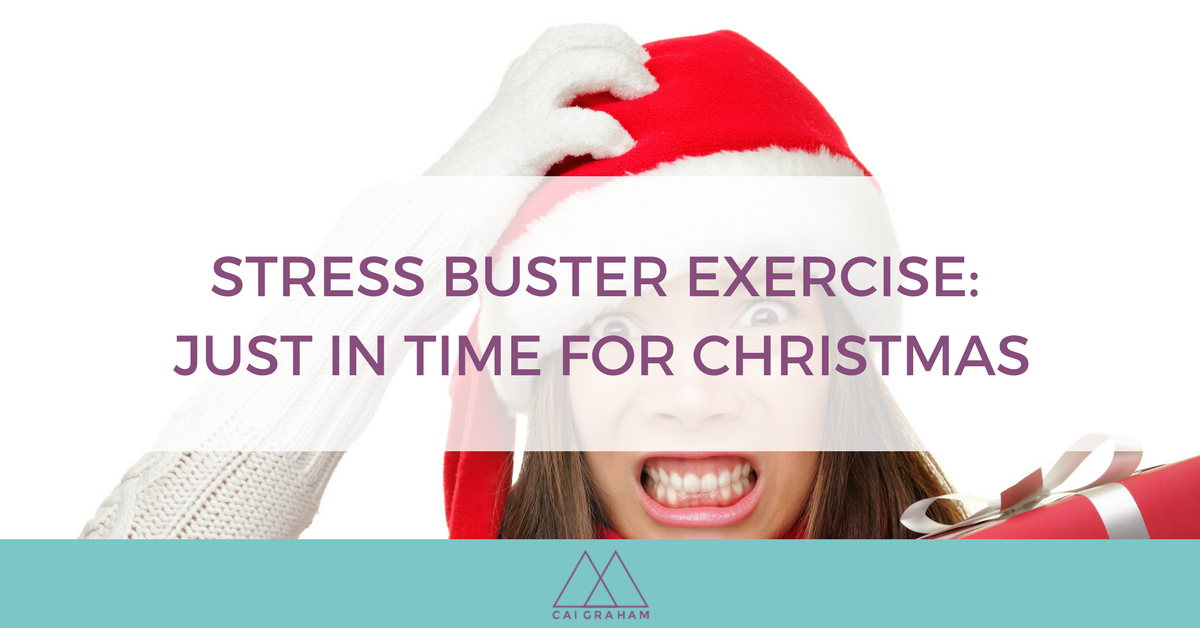 Stress Buster Exercise Just in time for Christmas 2 - Cai Graham