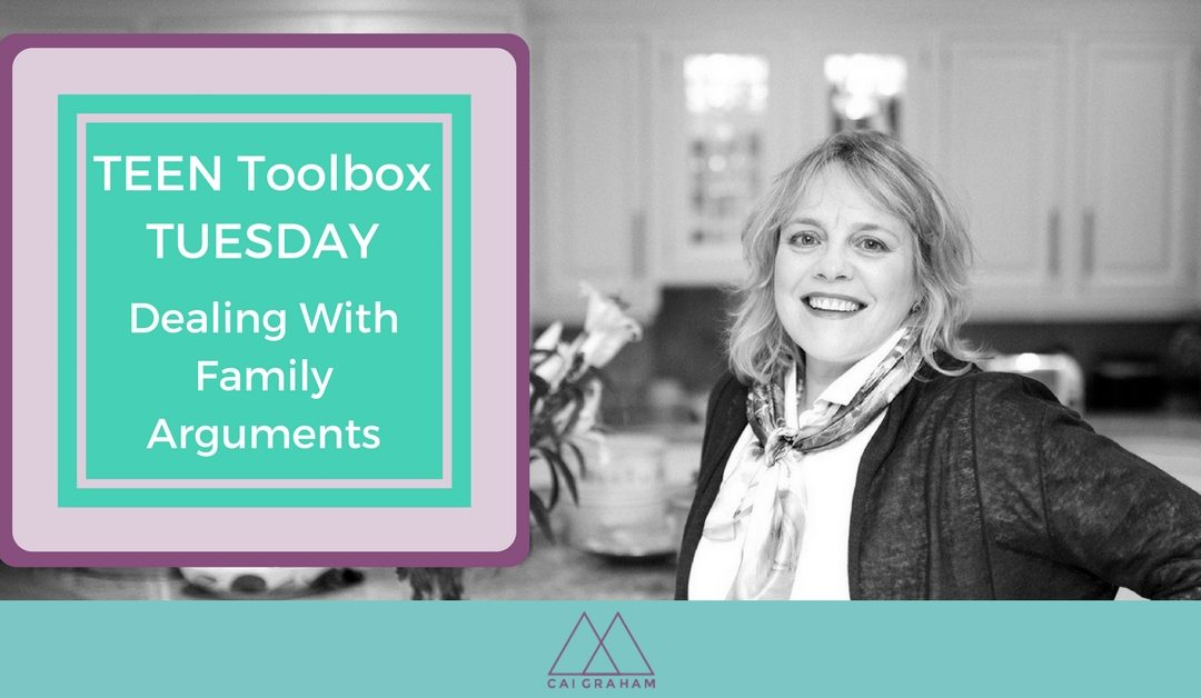 Dealing with Family Arguments – Teen Toolbox Tuesday