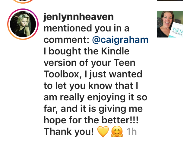 Insta Book Comment