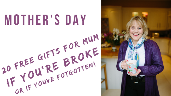 20 FREE Mother's Day Gift ideas