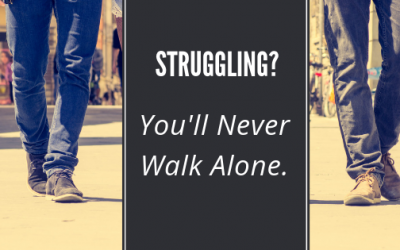 Struggling? You'll Never Walk Alone.