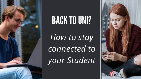 Staying Connected with your College Student.