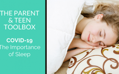 COVID 19 – The Importance of Sleep
