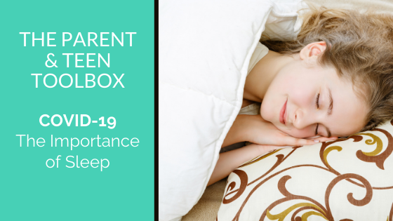 COVID 19 – The Importance of Sleep