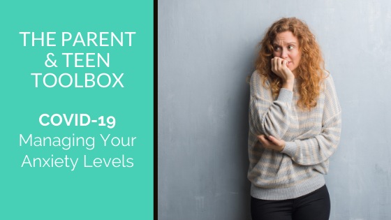 Managing Your Anxiety Levels
