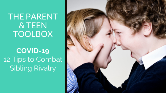 12 Tips to Combat Sibling Rivalry