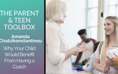 Why Your Child Would Benefit From Having a Coach featuring Amanda Chatzikonstantinou