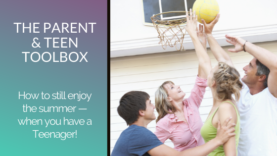 How to still enjoy the summer – when you have a Teenager!