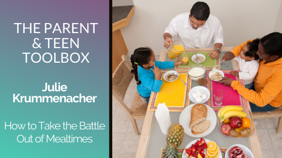 How to Take the Battle Out of Mealtimes featuring Julie Krummenacher